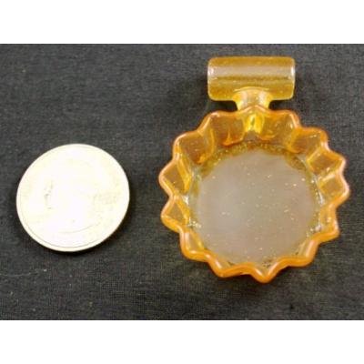 Eskuche Tangerine Crush Bottle Cap Pendant