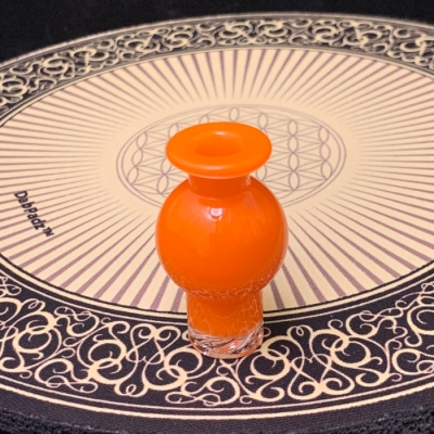 Bradley Miller Bubble Cap Spinner ~Orange~
