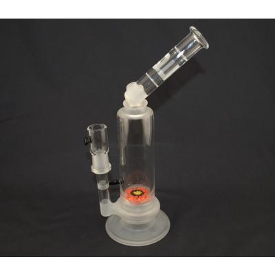 LQL Glass Jimmie Disc Bent Neck- Orange/Yellow