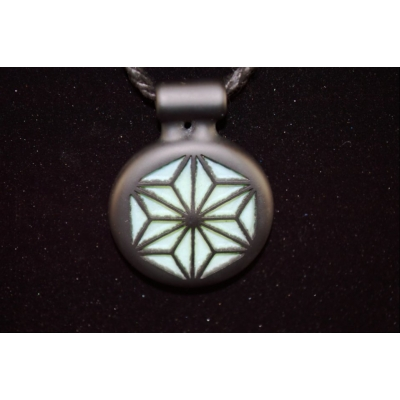 Jameson Sacred Geometry Carved Pendant