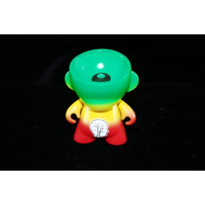Oil Slick Silicone Buddy- Rasta