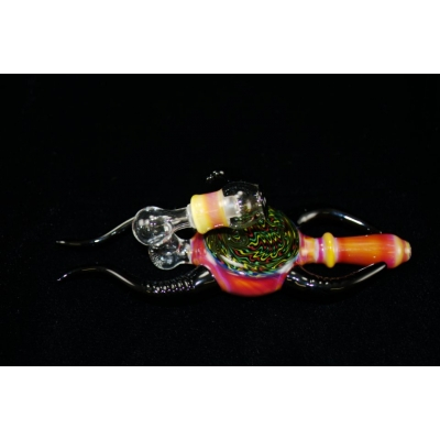 Adami Glass Lay Down Horned Rig - Serendipity/Rasta color