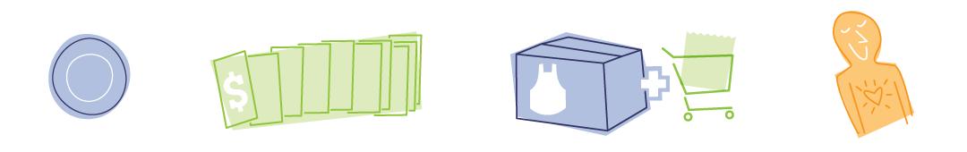 eMeals product illustrations