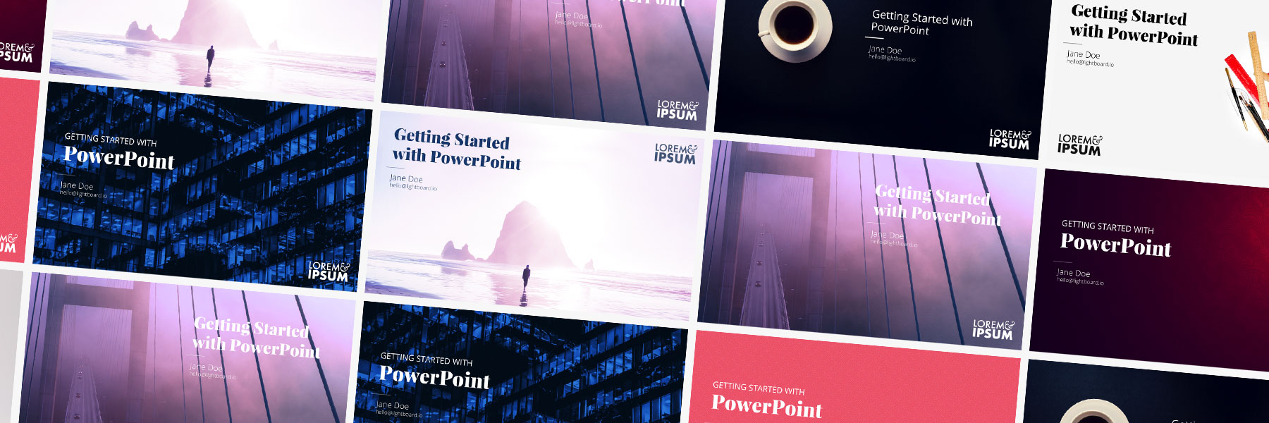 Powerpoint Presentation Cover Page Templates