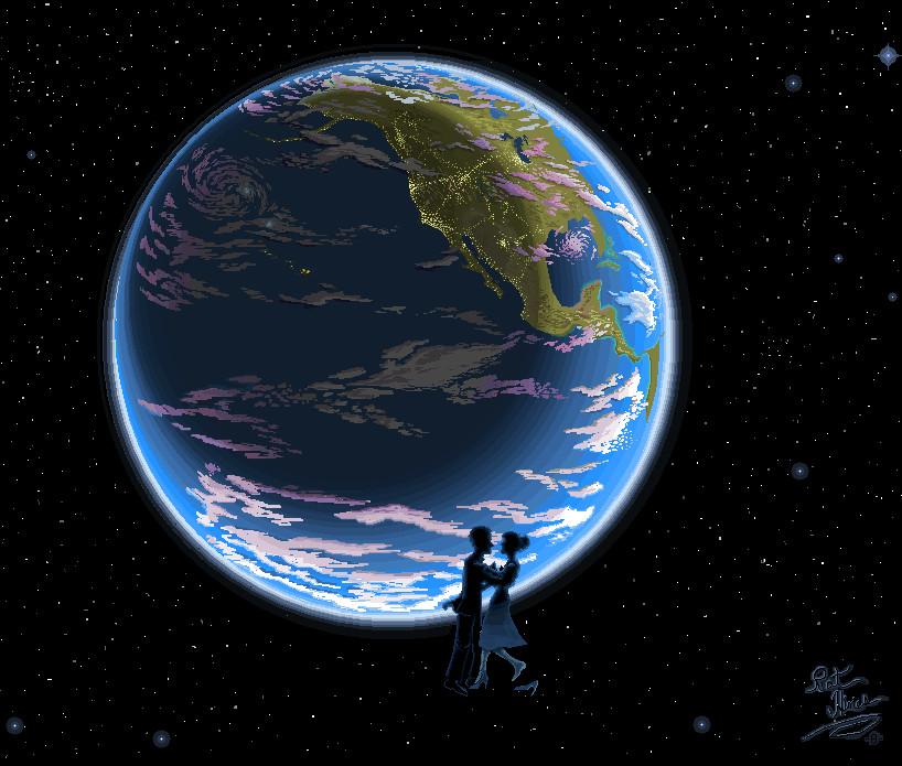 Zero G Slowdance by Patrick Hines