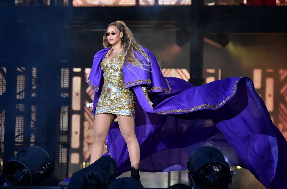 Beyonce Purple Cape