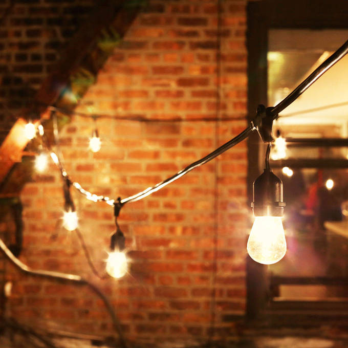 Vintage String Lights Outdoor Bistro And Festoon Lights