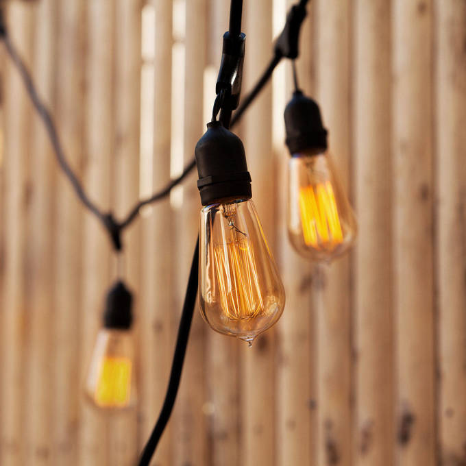 Vintage String Lights | Outdoor Bistro and Festoon Lights | Lights.com