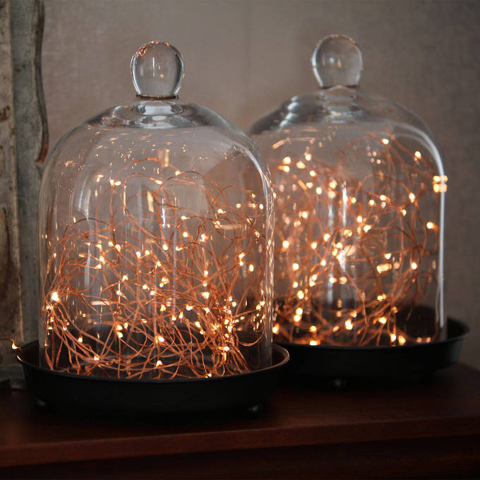 Details About Starry Warm White Copper Fairy String Lights 100ft By Lamplust