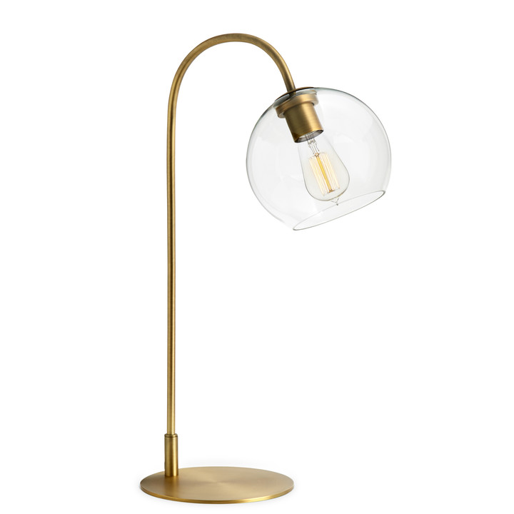 Lamps lamps sale celeste table lamp with clear globe aged brass aloadofball Gallery