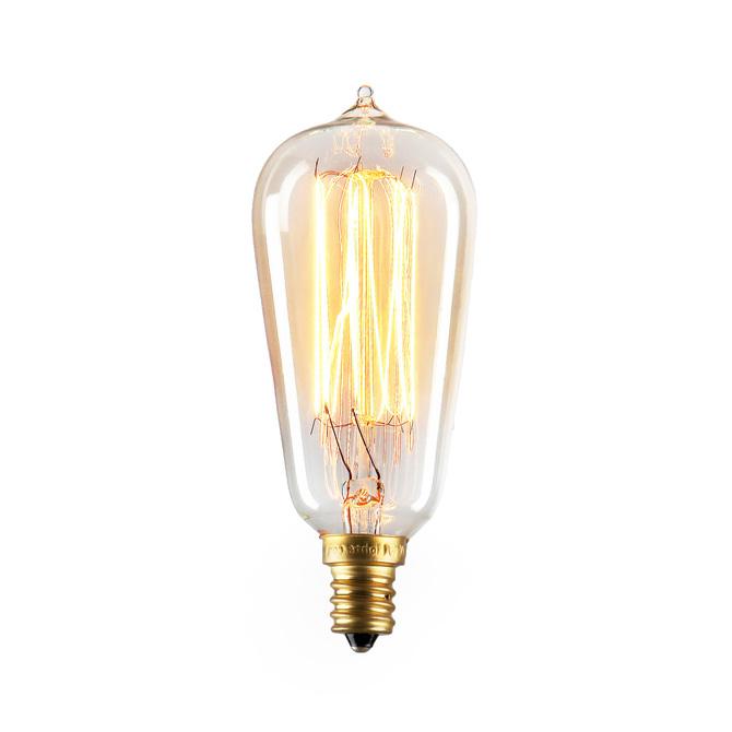 Bushwick Mini ST10 Vintage Candelabra Bulb 40W (E12) - Single