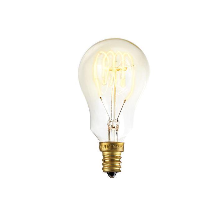 Coney Island Mini A15 Vintage Candelabra Bulb, 40W (E12) - Single