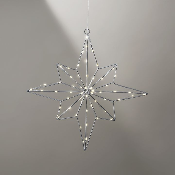 55 LED Large Wire Star