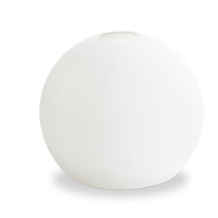 White Chandelier Globe Replacement, Celeste Series
