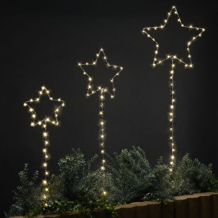 Shooting Star Garden Lights, Set of 3