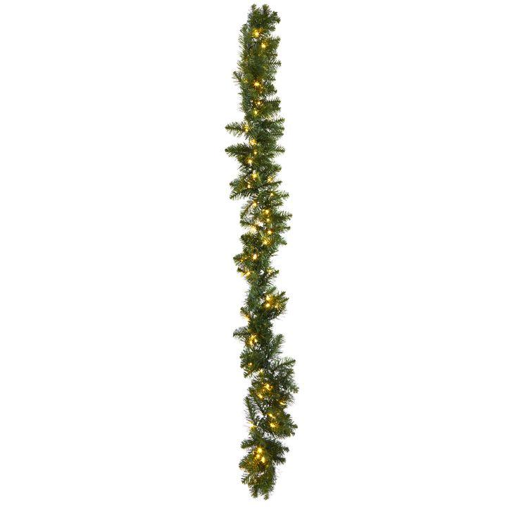 Telluride Pine Faux Garland, 9 ft
