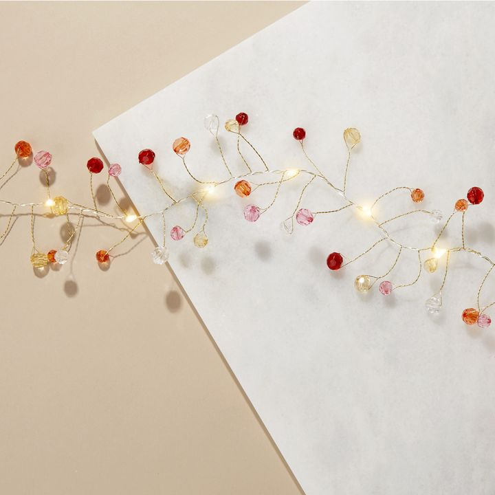 Confetti Multi-Color Garland Fairy String Lights, 8 ft.
