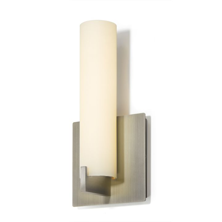 "Atlas 11"" LED Wall Sconce, Satin Nickel"
