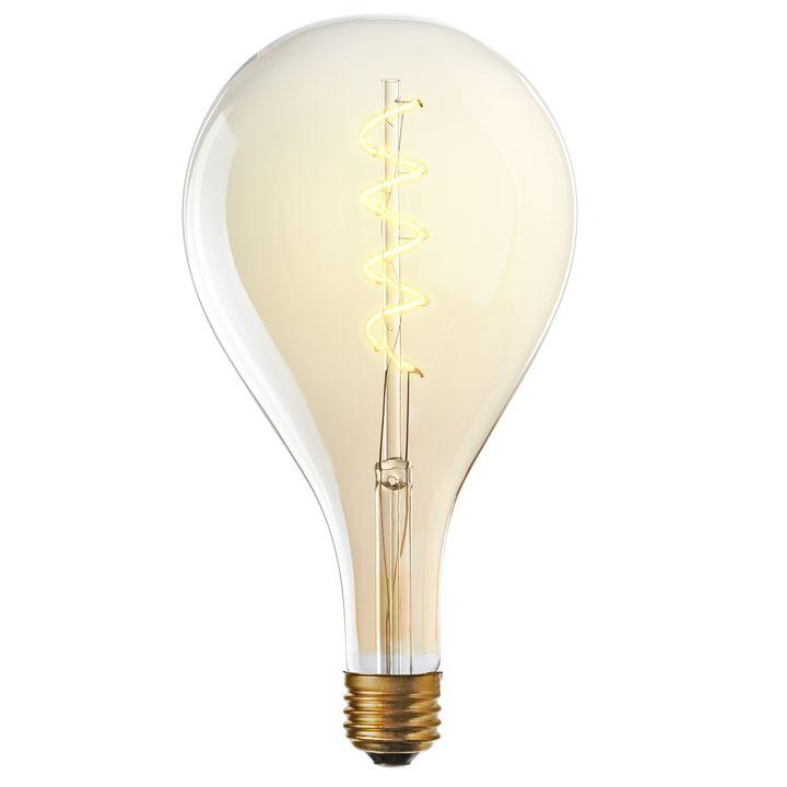 Union LED A52 Vintage Edison Bulb (E26), Single