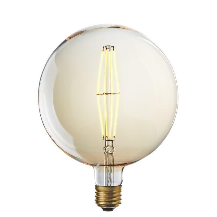 Grand LED G63 Vintage Edison Bulb (E26), Single