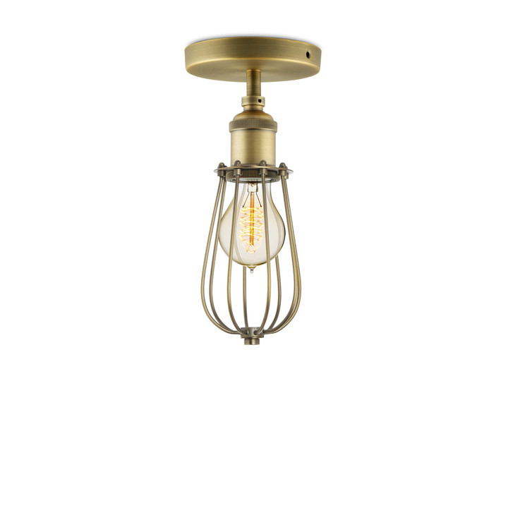 semi hill ceiling wire cage mount reviews flush gold design metal light