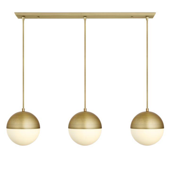 Lights ceiling pendant lighting 3 powell led 10 globe 3 powell led 10 globe pendants and 3 light rectangle canopy chrome aloadofball Gallery