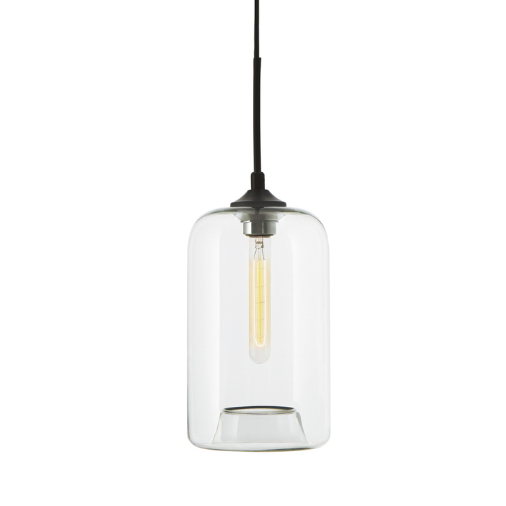 Windsor Heights Pendant with Cylinder Glass