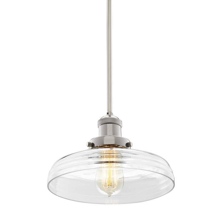 Clermont Pendant with Vintage Clear Glass