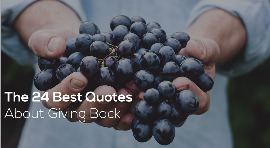 Quotes About Giving Back Beauteous The 48 Best Quotes About Giving Back