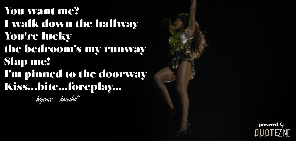 Beyonce Quotes The 17 Best Lyrics From Her Self Titled New Album