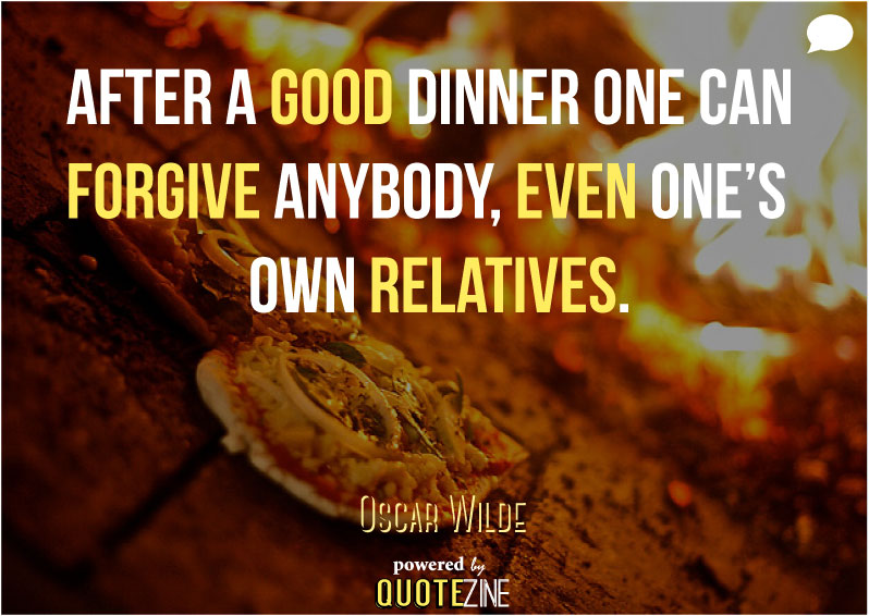 Food quotes the 30 greatest sayings on cooking dining eating well altfood quote oscar wilde forumfinder Choice Image