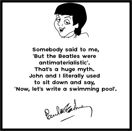 The Beatles Quotes Mesmerizing 48 Badass Paul McCartney Quotes Lyrics
