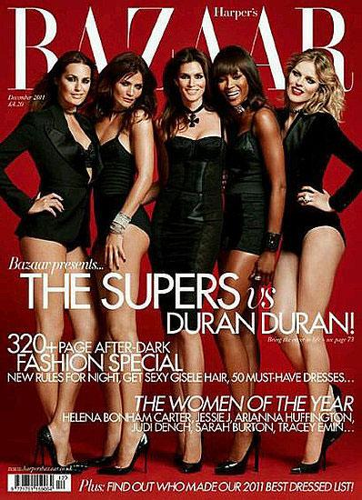 E a capa, com todas de Dolce & Gabbana!