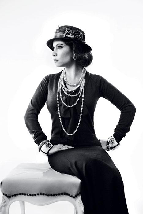 Pitty como Coco Chanel, campanha de outono-inverno 2011 da Cavalera