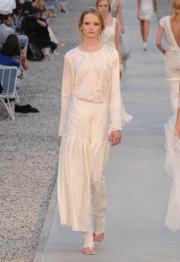 Chanel pré primavera-verão 2012