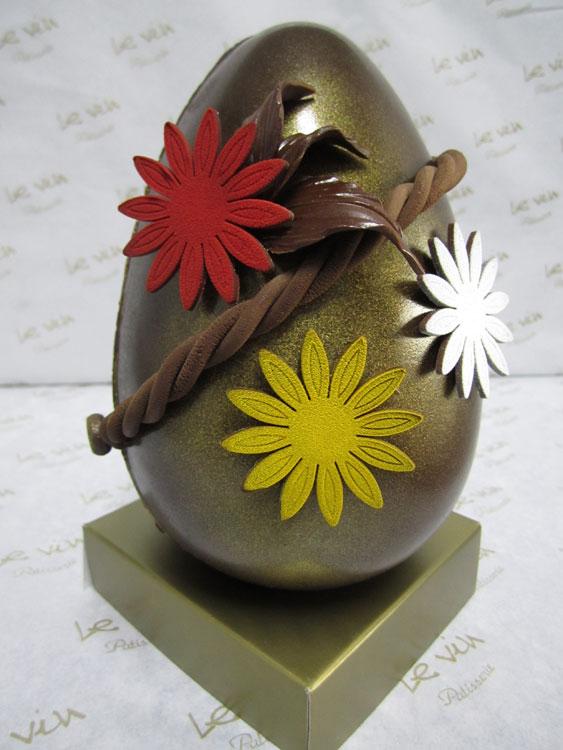 Ovo decorado da Le Vin Patisserie (R$ 115)