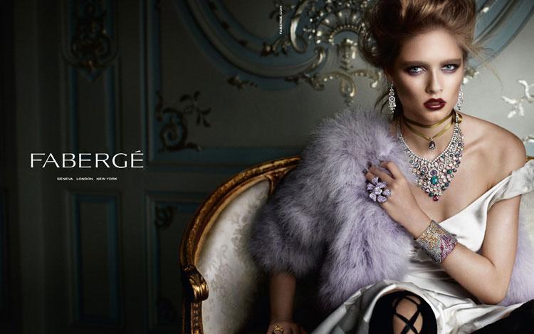 A 1ª campanha da Fabergé pós-relançamento