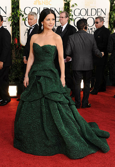 Catherine Zeta Jones de Monique Lhuillier
