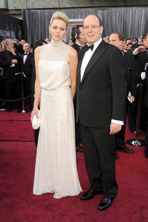 Charlene e o príncipe Albert II
