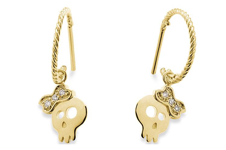Brincos em ouro e diamantes da H.Stern por R$ 2.360