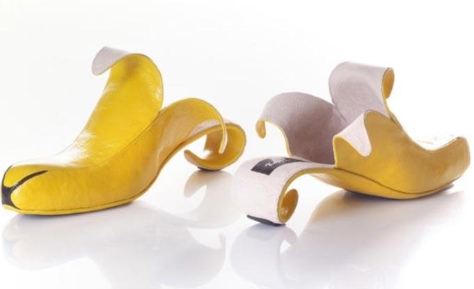 Casca de banana...