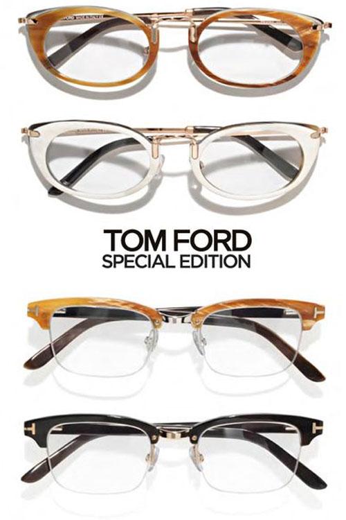 Tom Ford: armações de óculos cinquentinhas