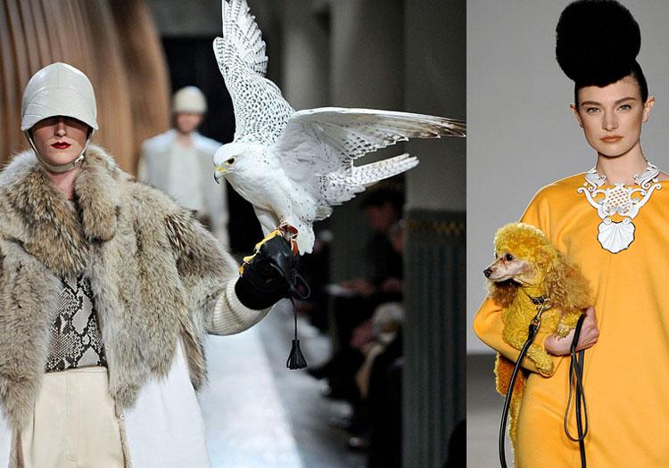 Leve seu bicho pra dar um close: Hermès e Isaac Mizrahi apostaram na onda!