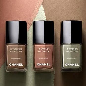 Chanel esmaltes Les Khakis