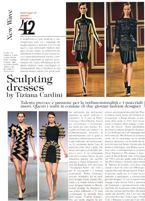 Pedro Lourenço na Vogue Itália