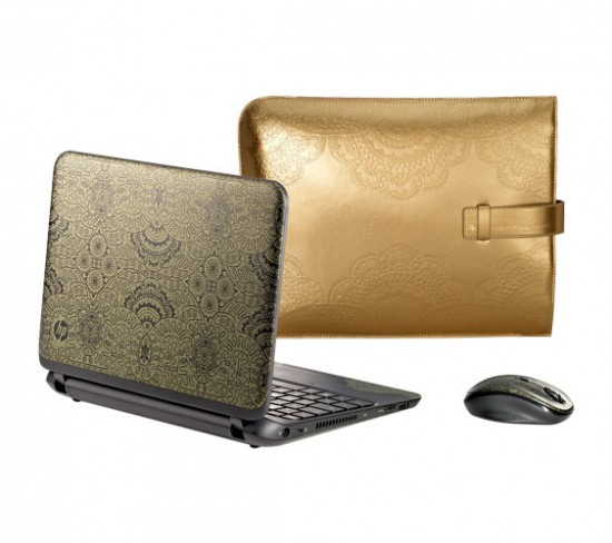 Notebook HP + Herchcovitch com case e mouse