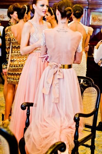 Backstage da primavera-verão 2012/13 de Patrícia Bonaldi
