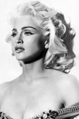 Madonna também tem ícones de beleza!