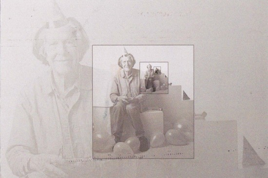 Foto do músico-poeta-pintor John Cage