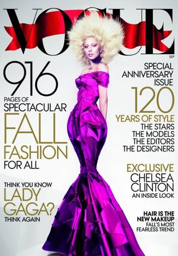 Lady Gaga na capa da